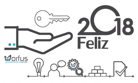 Morfus Equipamiento Comercial Os Desea Feliz Año 2018